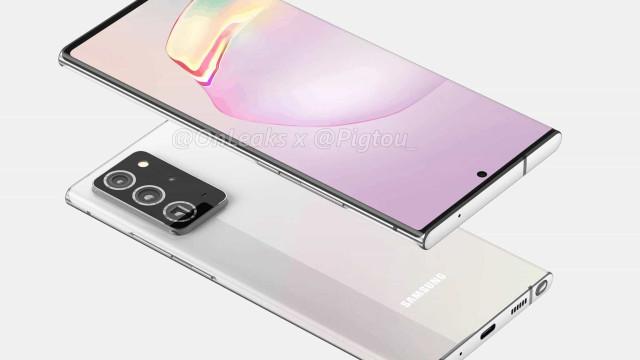 Galaxy Note 20: podem ser as primeiras imagens do smartphone