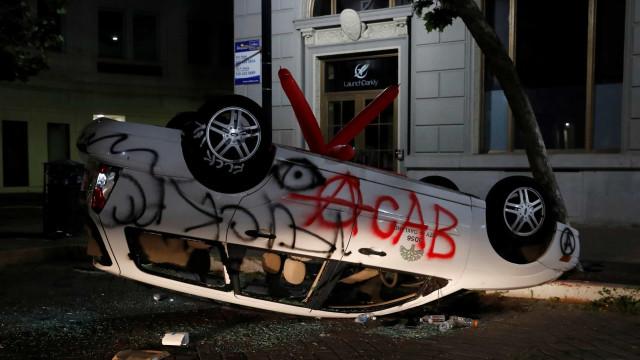 Floyd: 140 jornalistas agredidos desde o início das manifestações