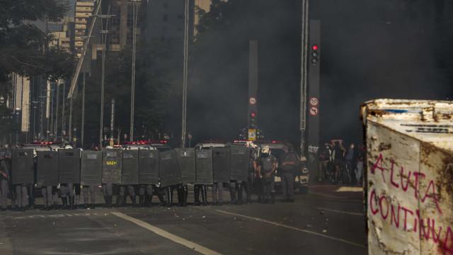 PM analisará vídeos para identificar provocadores em ato na Paulista