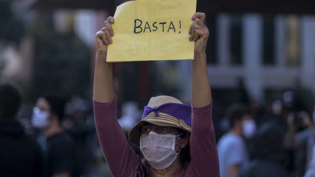Bolsonaro vê sua imagem derreter, e mundo passa a ter medo do Brasil