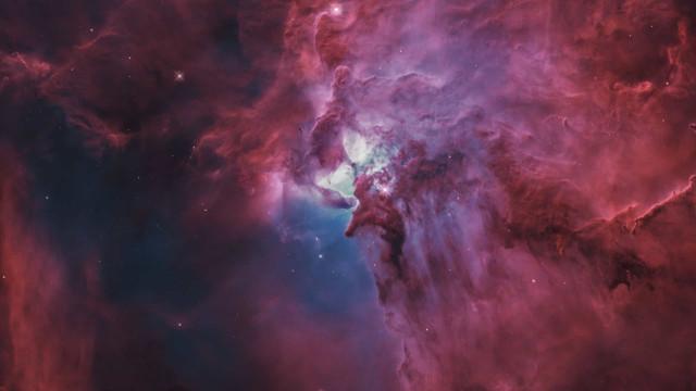É com esta imagem que a NASA inicia a semana