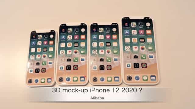 Vídeo mostra as dimensões dos quatro novos iPhones