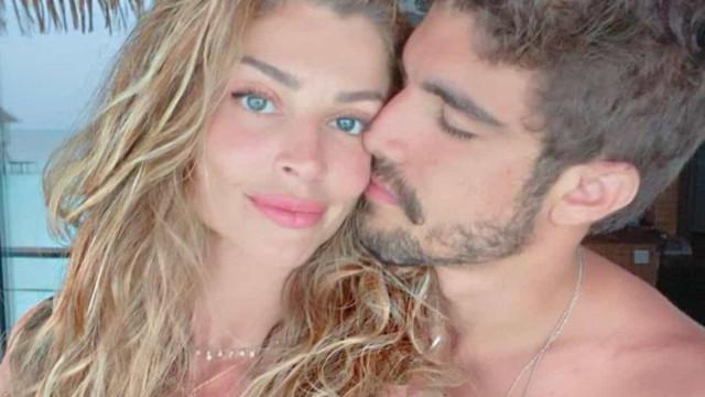 Grazi Massafera e Caio Castro celebram pela 1.º vez o Dia dos Namorados