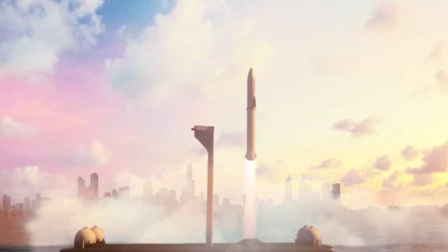 SpaceX quer usar novo foguete para limpar detritos espaciais