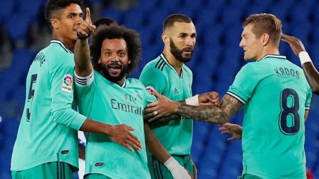 Real Madrid vence Real Sociedad e assume a liderança do Espanhol