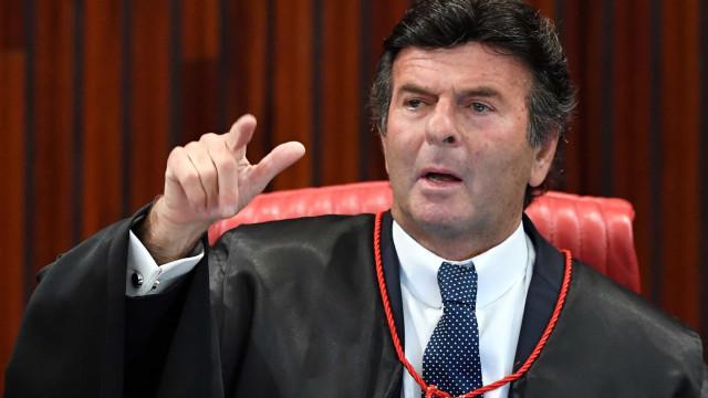 Fux se declara suspeito em ação do Supremo sobre impeachment de Witzel