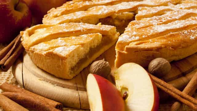 Tarte de maçã, um final doce para qualquer refeição