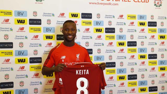 Keita, jogador do Liverpool, é acusado de tentativa de estupro