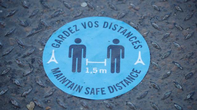 Números na França voltam a subir. Mais 7.852 casos e 37 mortos em 24h