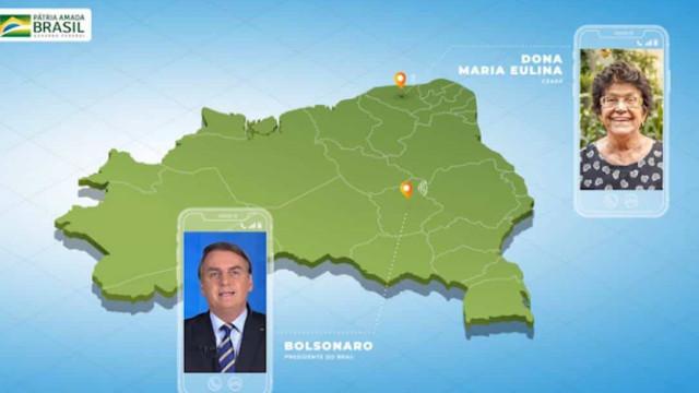 Após polêmica, Bolsonaro apaga vídeo com fotos falsas de brasileiros