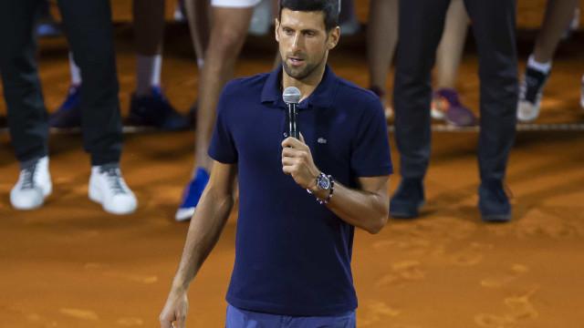 Djokovic se diz vítima de 'caça às bruxas' e evita falar sobre US Open