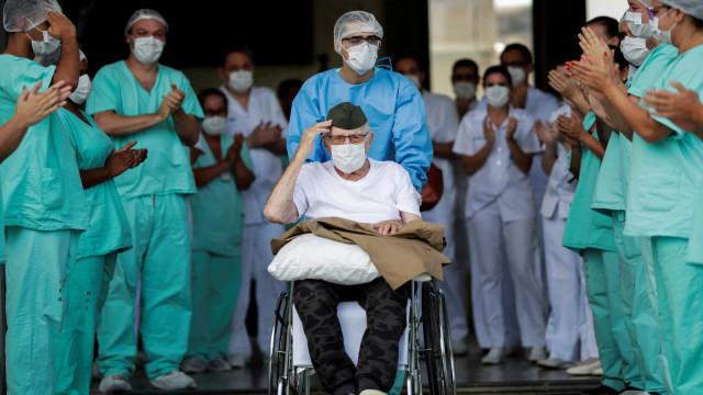 Brasil tem 1 milhão de casos recuperados de covid-19