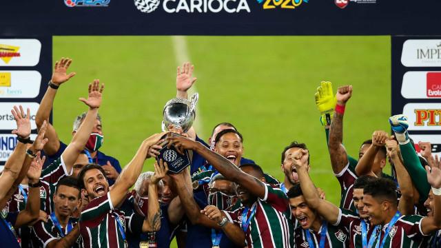 Fluminense vence Flamengo nos pênaltis e conquista Taça Rio