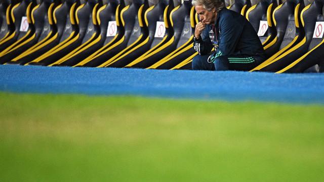 Jorge Jesus diz que Fluminense 'jogou para não perder de muito'