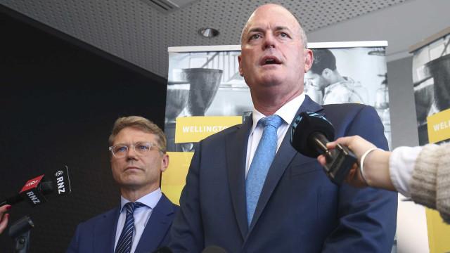 Líder da oposição da Nova Zelândia apresentou a demissão