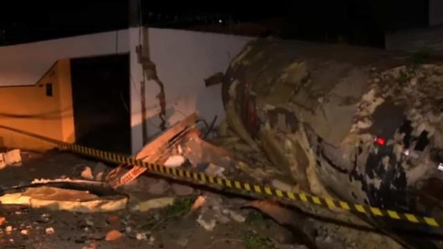 Explosão destrói fábrica de refrigerantes e deixa ferido em Fortaleza