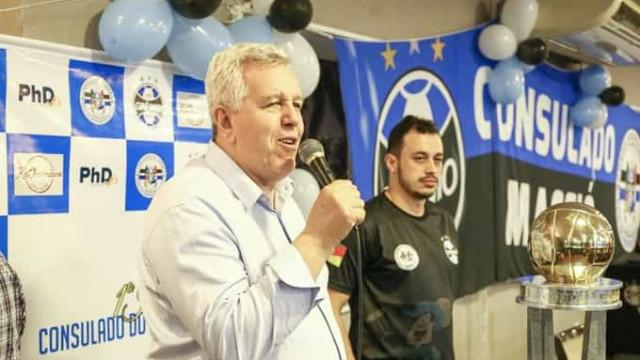 Vice-presidente do Grêmio morre por complicações da covid