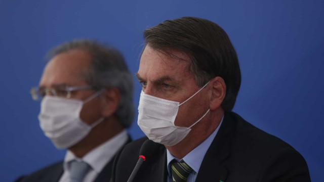 Com expectativa de definição para BB, Bolsonaro reúne-se com Guedes