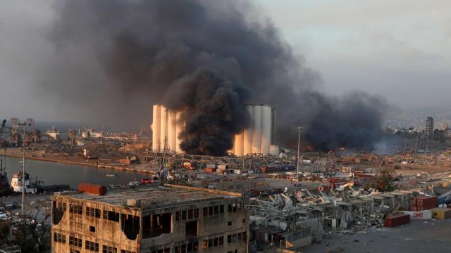 Militares brasileiros em Beirute estão bem, diz Marinha