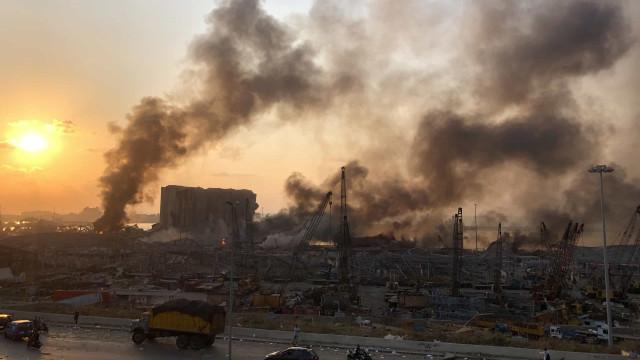 Número de mortos em Beirute sobe para 78