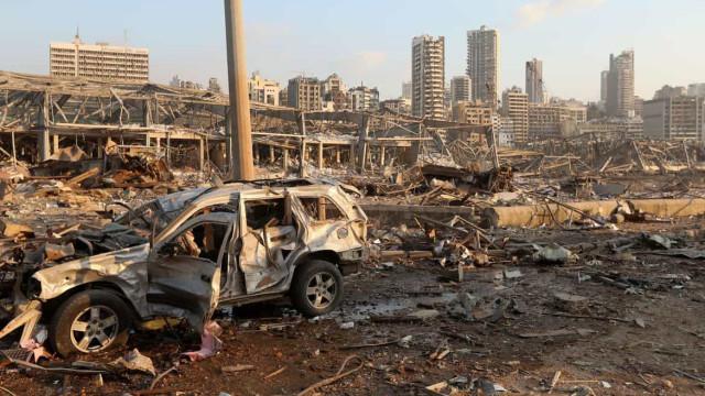 Embaixada do Líbano pede ajuda humanitária após explosão em Beirute