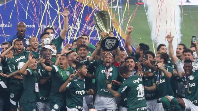 Palmeiras receberá R$ 4 mi de patrocinador como prêmio por título