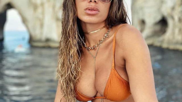 Anitta viaja para o paraíso e mostra imagens do hotel de luxo