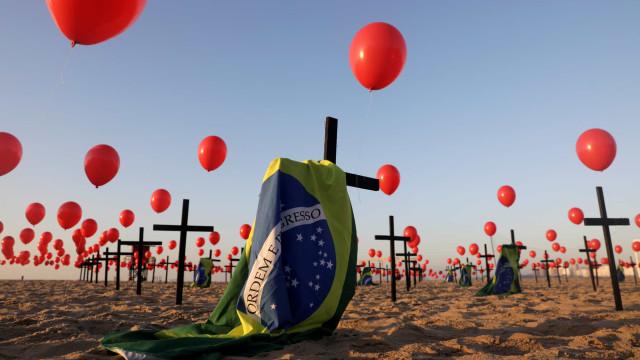 Saúde: Brasil registra 1.274 mortes por covid-19 em 24h