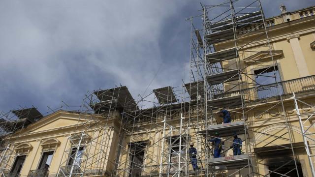 Alerj autoriza repasse de verbas para obras no Museu Nacional