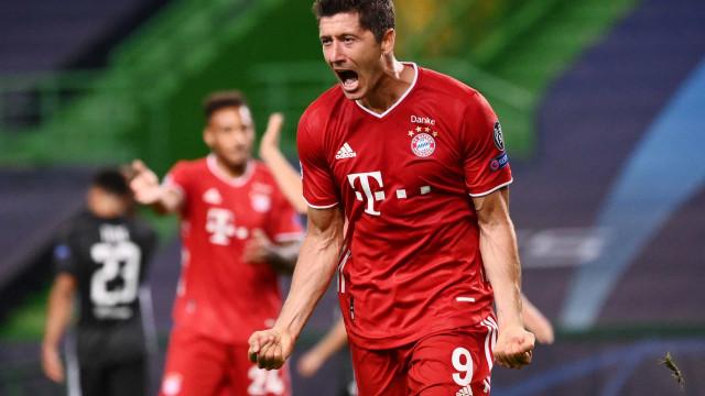 Lewandowski decide, Bayern de Munique vence e mantém vantagem na liderança