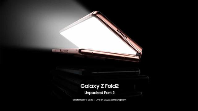 Samsung revela data de lançamento do novo Galaxy Z Fold2