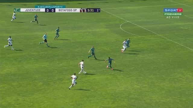 Juventude e Botafogo-SP ficam no 0 a 0 e perdem chance de entrar no G4 da Série B