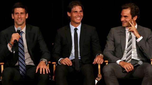 Federer e Nadal se opõem a Djokovic na criação de nova associação de tenistas