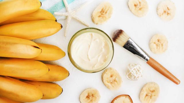 Banana e mel. A clássica máscara de rosto que nunca falha