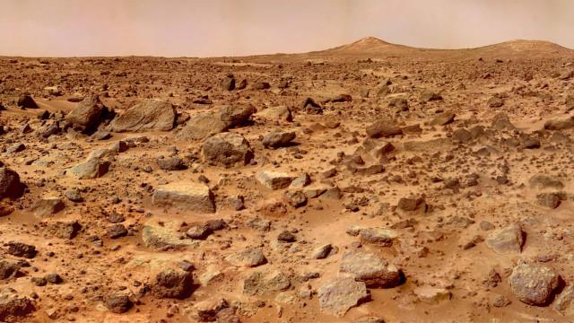 NASA recupera fotografia de alta resolução da superfície de Marte