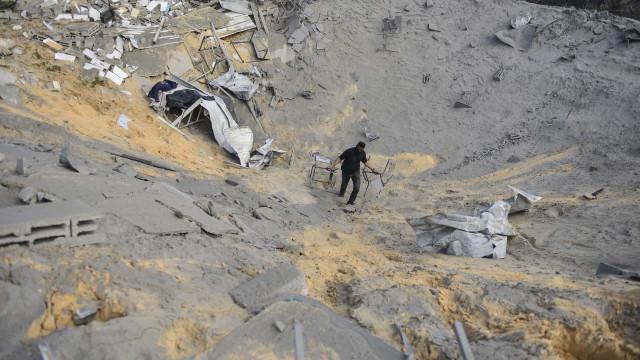 Hamas ameaça Israel pelo bombardeamento de Gaza