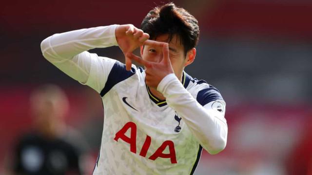 Son faz 4 gols, Kane brilha com assistências e Tottenham vence a 1ª no Inglês