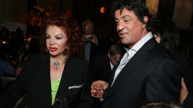 Morre a mãe de Sylvester Stallone. Tinha 98 anos