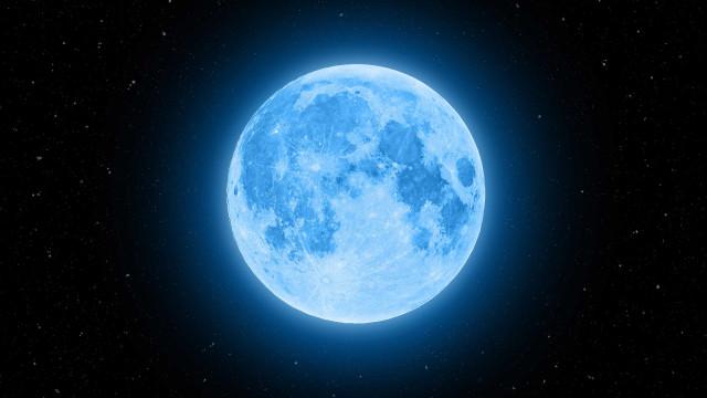 Atenção! Há uma Lua Cheia Azul prevista para outubro