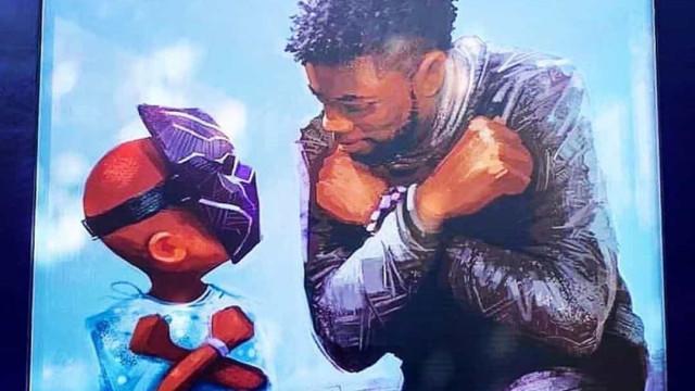 Disney cria mural em homenagem a Chadwick Boseman