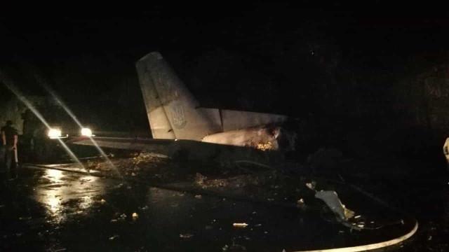Pelo menos 20 mortos em queda de avião militar na Ucrânia