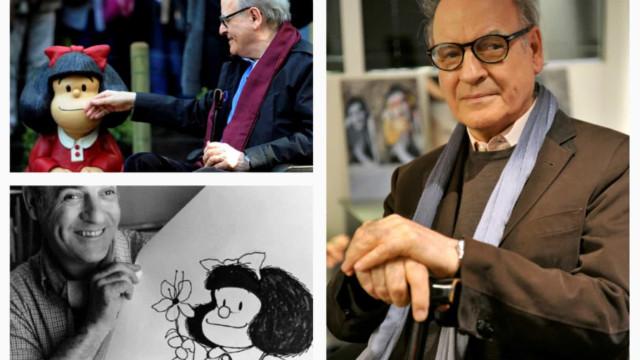 Quino, cartunista criador de Mafalda, morre aos 88 anos