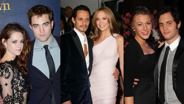 Celebridades que tiveram que trabalhar juntas após o fim da relação