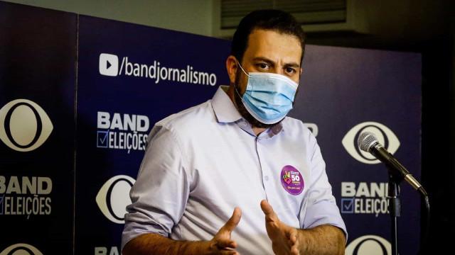Debate SP: Russomanno se escora em Bolsonaro e Covas exalta sua gestão