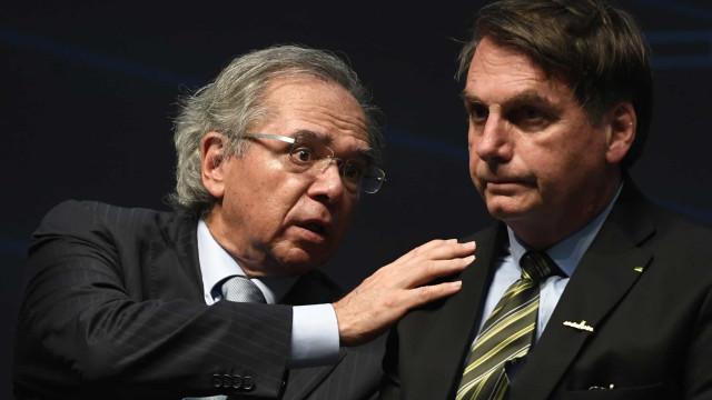 Bolsonaro ignora brigas e diz ter 'os melhores ministros da história do Brasil'