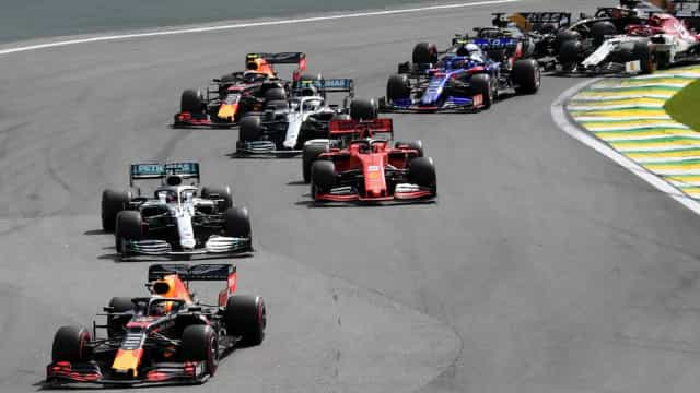A tabela do Mundial de Fórmula 1 de 2020