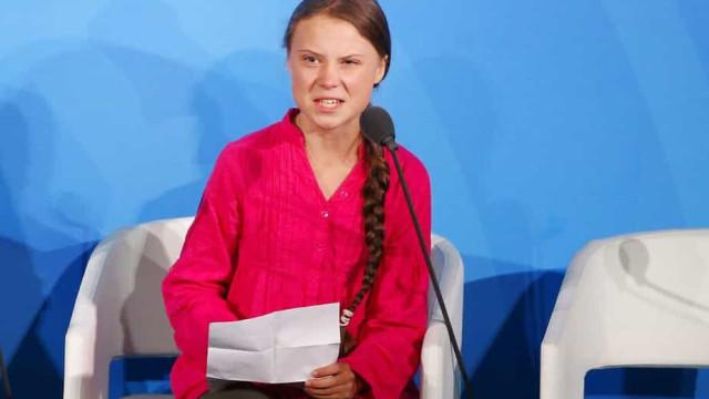 Greta expressa apoio a Biden em rara mensagem sobre política partidária