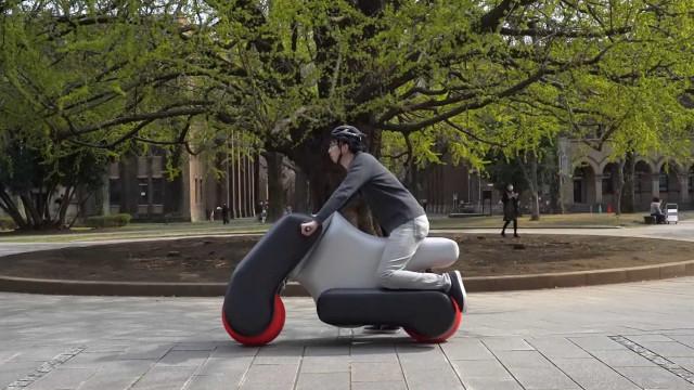 Motos insufláveis podem vir a mudar a mobilidade pessoal