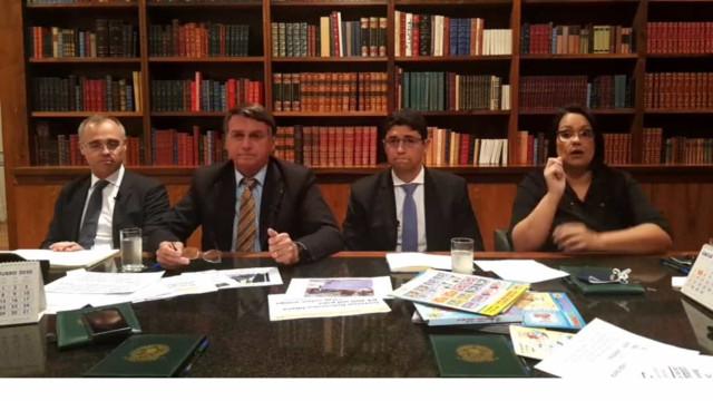 Bolsonaro repete que Lava Jato 'não funcionou' por não haver corrupção no governo