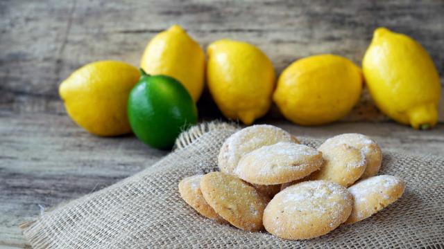 Bolachinhas de manteiga com limão. Sim, são uma verdadeira tentação